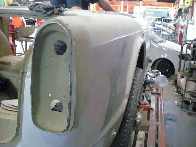 Pratts Auto Bodyshop Tr4 Restoration
